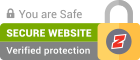 This site is SSL safe - it has a SSL certificate